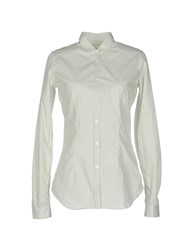 M.Grifoni Denim Shirts Shirts Women Green