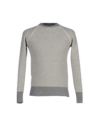 Grp Knitwear Jumpers Men Grey