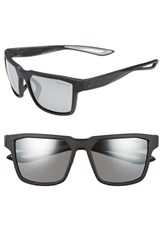 Nike Women's Fleet 55Mm Sport Sunglasses Matte Black