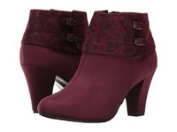 Soft Style Creel Sassafras Faux Suede Sassafras Paisley Faux Suede Women's Pull On Boots Brown