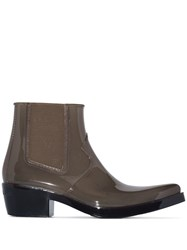 Calvin Klein 205W39nyc Carol Ankle Boots Green