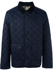 Barbour 'Anworth' Quilted Jacket Blue