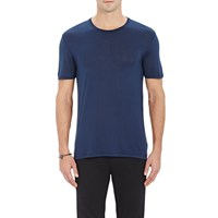 Atm Anthony Thomas Melillo Slub T Shirt Navy