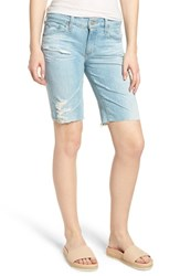 Ag Jeans Nikki Denim Shorts 23 Years Cerulean Chase