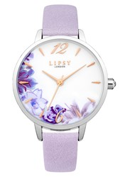 Lipsy Ladies Strap Watch Purple
