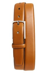 Nordstrom Big And Tall Shop Pullman Leather Belt Cognac