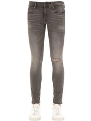 G Star Revend Destroyed Skinny Denim Jeans Black Aged