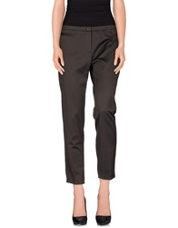 Irma Bignami Casual Pants Dark Brown
