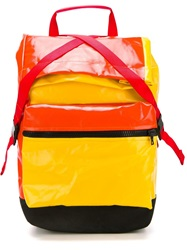 Christopher Raeburn Contrast Panel Backpack Multicolour