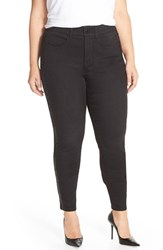 Plus Size Women's Melissa Mccarthy Seven7 Embellished Tuxedo Pencil Leg Jeans Summit