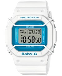 Baby G Women's Digital White Resin Strap Watch 40X45mm Bgd501fs 7