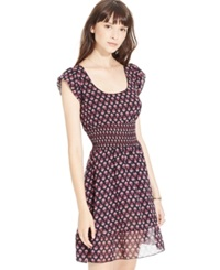 American Rag Printed Smocked Waist Dress Only At Macy's Small Wonder