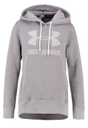 Under Armour Favorite Sweatshirt Graphite Light Heather White Light Grey
