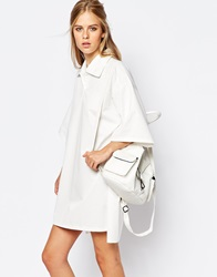 The Laden Showroom X Among Shirt Dress With Dip Back White