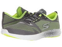 Skechers Go Meb Razor 2 Charcoal Lime Running Shoes Green