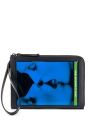 Dsquared2 X Mert And Marcus Printed Pouch Bag Black