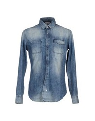 Reign Denim Shirts Blue