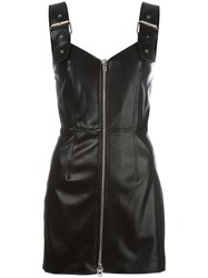 Givenchy Buckle Strap Mini Dress Black
