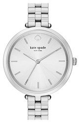 Kate Spade Women's New York Holland Bracelet Watch 34Mm Silver