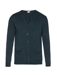 Sunspel Lightweight Merino Wool Knit Cardigan