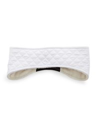 Ugg Faux Fur Lined Headband White