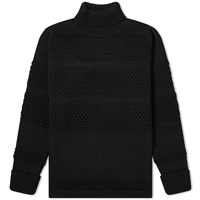 S.N.S. Herning Fisherman Roll Neck Knit Black