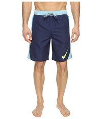 Nike Blockforce 9 Volley Shorts Midnight Navy Men's Swimwear Blue