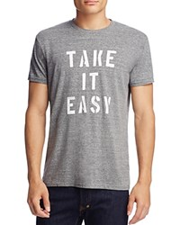 Sol Angeles Take It Easy Graphic Tee Heather Grey