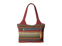 The Sak Casual Classics Large Tote Gypsy Stripe 1 Tote Handbags Brown