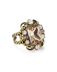 Sorrelli Faceted Cluster Statement Ring Multi Gold
