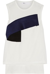 Toga Layered Cotton Jersey Top