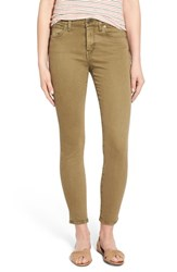 Women's Madewell High Rise Crop Skinny Jeans