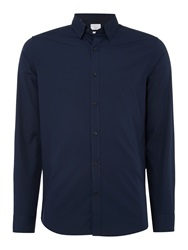 Selected Slim One Travis Dublin Shirt Navy