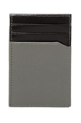 Original Penguin Front Pocket Magnetic Clip Wallet Gray