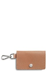 Shinola Women's Latigo Leather Card Case Brown Camel
