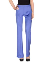 Gai Mattiolo Jeans Trousers Casual Trousers Women Purple