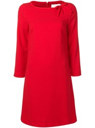 Goat Honey Dress Red
