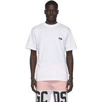 Gcds White Basic T Shirt