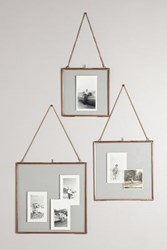 Anthropologie Hinged Hanging Picture Frame Copper