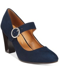 Styleandco. Style Co. Alabina Mary Jane Pumps Only At Macy's Women's Shoes Navy