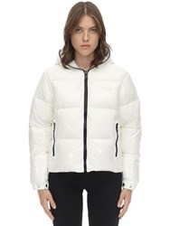Duvetica Bellatrixdue Nylon Down Jacket White