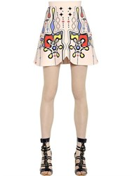 Peter Pilotto Printed Crepe Skirt