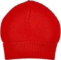 Maison Martin Margiela Maison Margiela English Rib Knit Beanie Red