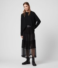 Allsaints Renia Skirt Black