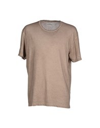 Authentic Original Vintage Style Topwear T Shirts Men Khaki