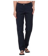Jack Wolfskin Victoria Oc Pants Night Blue Women's Casual Pants Navy