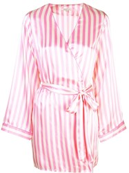 Morgan Lane Langley Robe Pink
