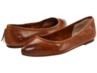 Frye Regina Ballet Cognac Women's Slip On Shoes Tan