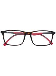 Carrera Rectangular Shaped Glasses Black