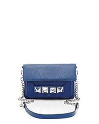 Linea Pelle Crossbody Grayson Bar Azul